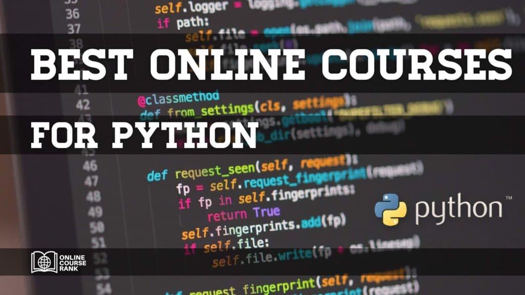 best online python courses